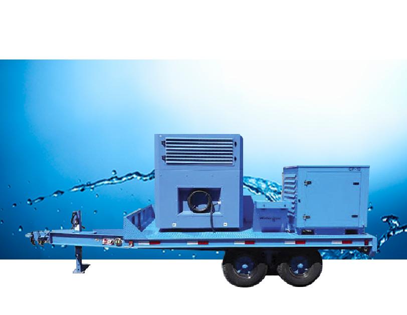 Generador de Agua GEN-M Mobile Trailer - Desde el Aire