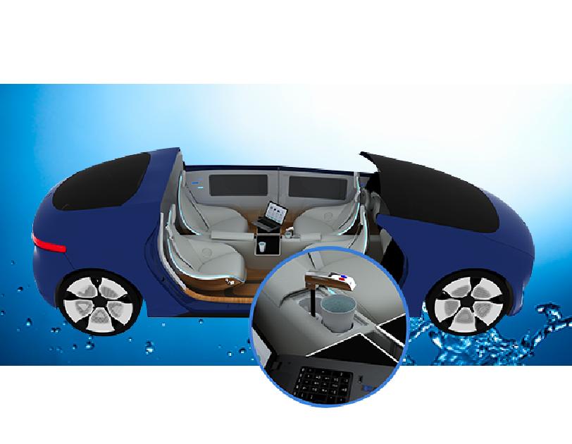 Generador de Agua Solución para Automóviles - Desde el Aire